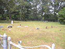 *JOHNSON CEMTERY OVERVIEW,  - Scott County, Arkansas |  *JOHNSON CEMTERY OVERVIEW - Arkansas Gravestone Photos