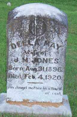 JONES, DELLA MAY - Scott County, Arkansas | DELLA MAY JONES - Arkansas Gravestone Photos