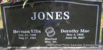 JONES, DOROTHY MAE - Scott County, Arkansas | DOROTHY MAE JONES - Arkansas Gravestone Photos