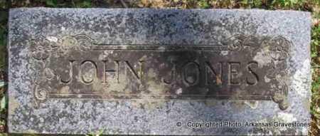 JONES, JOHN - Scott County, Arkansas | JOHN JONES - Arkansas Gravestone Photos