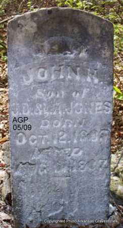 JONES, JOHN H - Scott County, Arkansas | JOHN H JONES - Arkansas Gravestone Photos