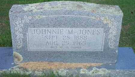 JONES, JOHNNIE M - Scott County, Arkansas | JOHNNIE M JONES - Arkansas Gravestone Photos