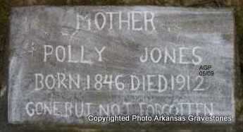 JONES, POLLY - Scott County, Arkansas | POLLY JONES - Arkansas Gravestone Photos