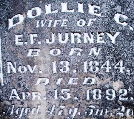 JURNEY, DOLLIE C - Scott County, Arkansas | DOLLIE C JURNEY - Arkansas Gravestone Photos