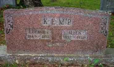 KEMP, LUCINDA - Scott County, Arkansas | LUCINDA KEMP - Arkansas Gravestone Photos