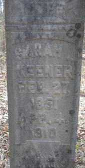 KENNER, SARAH L - Scott County, Arkansas | SARAH L KENNER - Arkansas Gravestone Photos