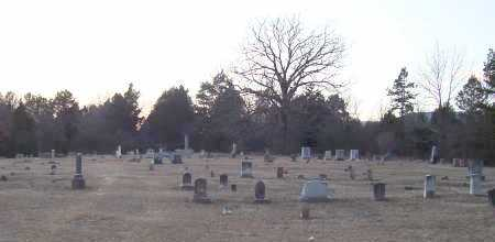 *KIRK CEMETERY OVERVIEW,  - Scott County, Arkansas |  *KIRK CEMETERY OVERVIEW - Arkansas Gravestone Photos