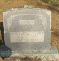 KNIGHT, ANDREW A - Scott County, Arkansas | ANDREW A KNIGHT - Arkansas Gravestone Photos
