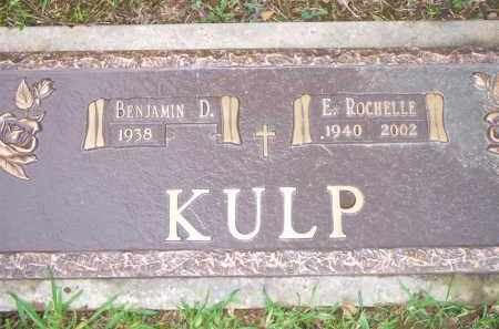 KULP, EDITH ROCHELLE - Scott County, Arkansas | EDITH ROCHELLE KULP - Arkansas Gravestone Photos