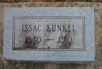 KUNKEL (VETERAN CSA), ISSAC - Scott County, Arkansas | ISSAC KUNKEL (VETERAN CSA) - Arkansas Gravestone Photos