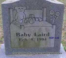 LAIRD, BABY - Scott County, Arkansas | BABY LAIRD - Arkansas Gravestone Photos