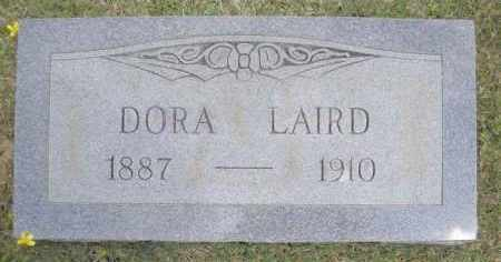 BARRICK LAIRD, DORA - Scott County, Arkansas | DORA BARRICK LAIRD - Arkansas Gravestone Photos