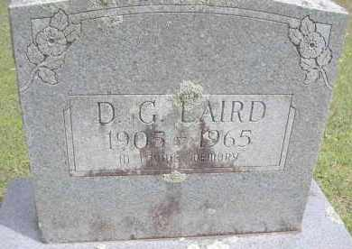 LAIRD, D G - Scott County, Arkansas | D G LAIRD - Arkansas Gravestone Photos