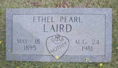 LAIRD, ETHEL PEARL - Scott County, Arkansas | ETHEL PEARL LAIRD - Arkansas Gravestone Photos