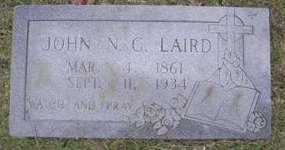 LAIRD, JOHN N  C - Scott County, Arkansas | JOHN N  C LAIRD - Arkansas Gravestone Photos