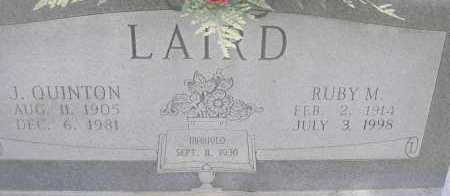 LAIRD, J QUINTON - Scott County, Arkansas | J QUINTON LAIRD - Arkansas Gravestone Photos