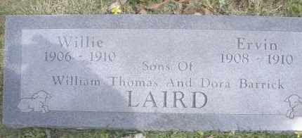 LAIRD, ERVIN - Scott County, Arkansas | ERVIN LAIRD - Arkansas Gravestone Photos