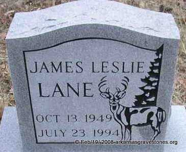 LANE, JAMES LESLIE - Scott County, Arkansas | JAMES LESLIE LANE - Arkansas Gravestone Photos