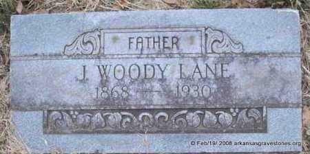 LANE, J  WOODY - Scott County, Arkansas | J  WOODY LANE - Arkansas Gravestone Photos