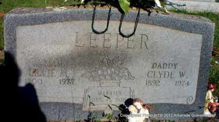 LEEPER, LILLIE M - Scott County, Arkansas | LILLIE M LEEPER - Arkansas Gravestone Photos