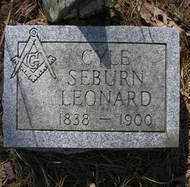 LEONARD, CYLE SEBURN - Scott County, Arkansas | CYLE SEBURN LEONARD - Arkansas Gravestone Photos