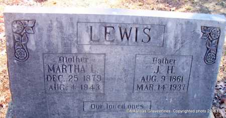 LEWIS, J H - Scott County, Arkansas | J H LEWIS - Arkansas Gravestone Photos