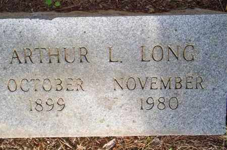 LONG, ARTHUR L - Scott County, Arkansas | ARTHUR L LONG - Arkansas Gravestone Photos