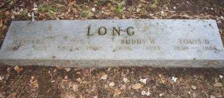 LONG, BUDDY W - Scott County, Arkansas | BUDDY W LONG - Arkansas Gravestone Photos