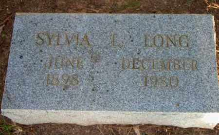 LONG, SYLVIA L - Scott County, Arkansas | SYLVIA L LONG - Arkansas Gravestone Photos
