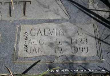 LOVETT, CALVIN   (CLOSEUP) - Scott County, Arkansas | CALVIN   (CLOSEUP) LOVETT - Arkansas Gravestone Photos