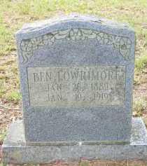 LOWRIMORE, BEN - Scott County, Arkansas | BEN LOWRIMORE - Arkansas Gravestone Photos