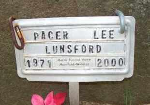 LUNSFORD, PACER LEE - Scott County, Arkansas | PACER LEE LUNSFORD - Arkansas Gravestone Photos