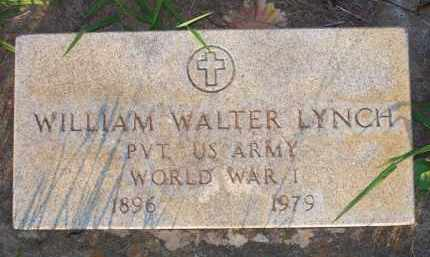 LYNCH  (VETERAN WWI), WILLIAM WALTER - Scott County, Arkansas | WILLIAM WALTER LYNCH  (VETERAN WWI) - Arkansas Gravestone Photos
