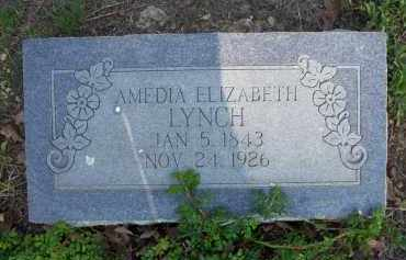 LYNCH, AMEDIA ELIZABETH - Scott County, Arkansas | AMEDIA ELIZABETH LYNCH - Arkansas Gravestone Photos