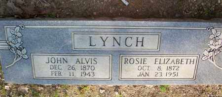 LYNCH, JOHN ALVIS - Scott County, Arkansas | JOHN ALVIS LYNCH - Arkansas Gravestone Photos