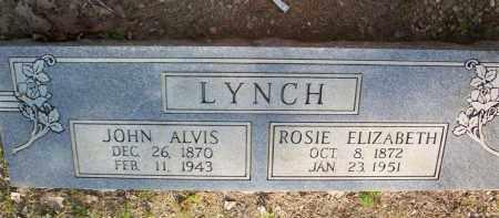 LYNCH, ROSIE ELIZABETH - Scott County, Arkansas | ROSIE ELIZABETH LYNCH - Arkansas Gravestone Photos