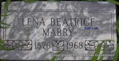 MABRY, LENA BEATRICE - Scott County, Arkansas | LENA BEATRICE MABRY - Arkansas Gravestone Photos
