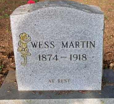 MARTIN, WESS - Scott County, Arkansas | WESS MARTIN - Arkansas Gravestone Photos