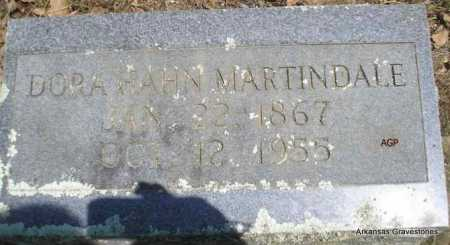MARTINDALE, DORA - Scott County, Arkansas | DORA MARTINDALE - Arkansas Gravestone Photos