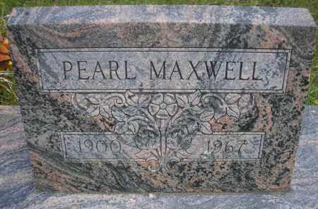 MAXWELL, PEARL - Scott County, Arkansas | PEARL MAXWELL - Arkansas Gravestone Photos