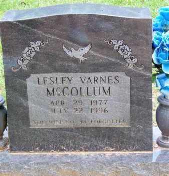 MCCOLLUM, LESLEY VARNES - Scott County, Arkansas | LESLEY VARNES MCCOLLUM - Arkansas Gravestone Photos