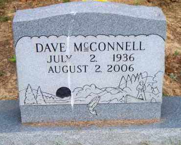MCCONNELL, DAVE - Scott County, Arkansas | DAVE MCCONNELL - Arkansas Gravestone Photos