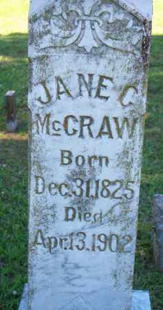 MCCRAW, JANE C - Scott County, Arkansas | JANE C MCCRAW - Arkansas Gravestone Photos