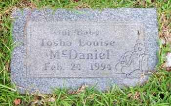 MCDANIEL, TOSHA LOUISE - Scott County, Arkansas | TOSHA LOUISE MCDANIEL - Arkansas Gravestone Photos
