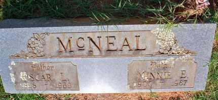 MCNEAL, MINNIE E - Scott County, Arkansas | MINNIE E MCNEAL - Arkansas Gravestone Photos