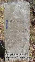 MCANALLY, SARAH - Scott County, Arkansas | SARAH MCANALLY - Arkansas Gravestone Photos