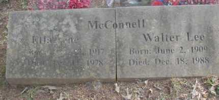 MCCONNELL, WALTER LEE - Scott County, Arkansas | WALTER LEE MCCONNELL - Arkansas Gravestone Photos