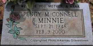 "MCCONNELL, PEGGY ""MINNIE"" - Scott County, Arkansas 