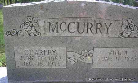 MCCURRY, CHARLEY LESTER - Scott County, Arkansas | CHARLEY LESTER MCCURRY - Arkansas Gravestone Photos