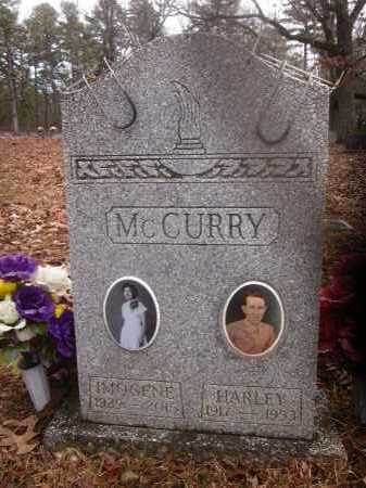 MCCURRY, HARLEY  (2ND STONE) - Scott County, Arkansas | HARLEY  (2ND STONE) MCCURRY - Arkansas Gravestone Photos